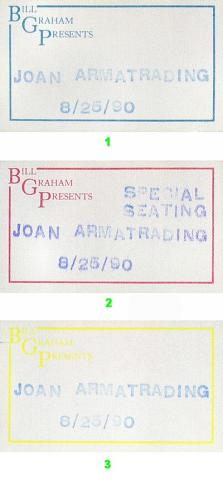 Joan Armatrading Backstage Pass
