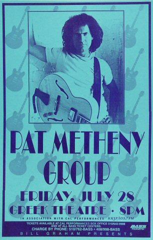 Pat Metheny Group Poster