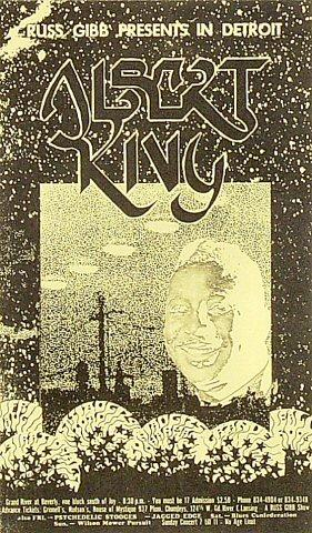 Albert King Postcard