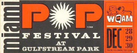Miami Pop Festival Sticker
