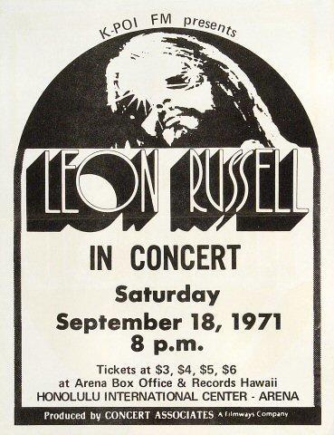 Leon Russell Handbill