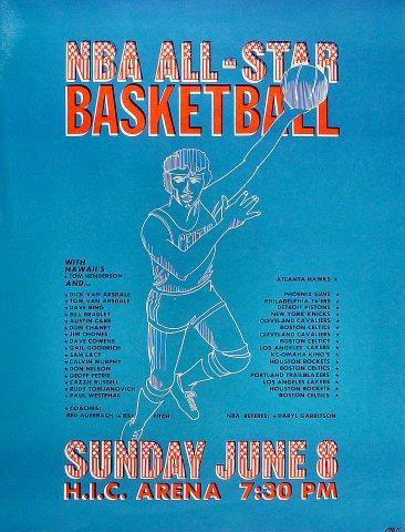 NBA All-Star Basketball Poster