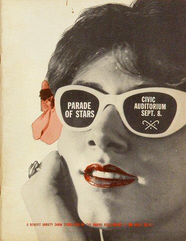 Parade of Stars Blind Benefit Show Program