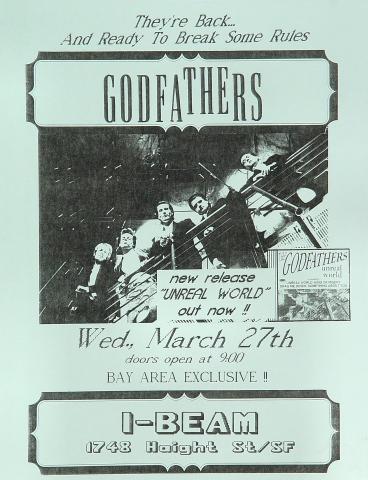 The Godfathers Handbill