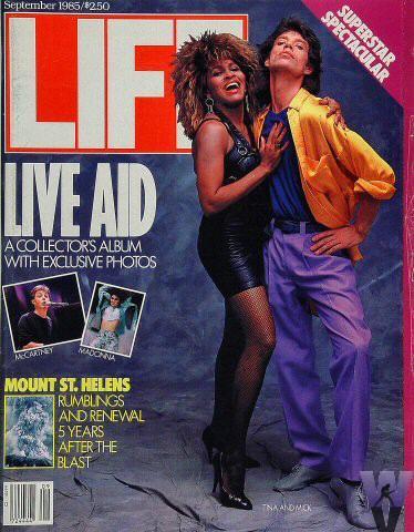 LIFE Magazine September 1985 - Live Aid