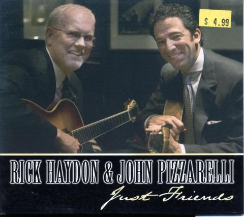 Rick Hayden & John Pizzarelli CD