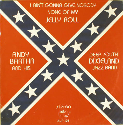 Andy Bartha And His Deep South Dixieland Jazz Band Vinyl 12""