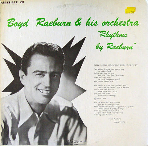 """Boyd Raeburn & His Orchestra Vinyl 12"""""""