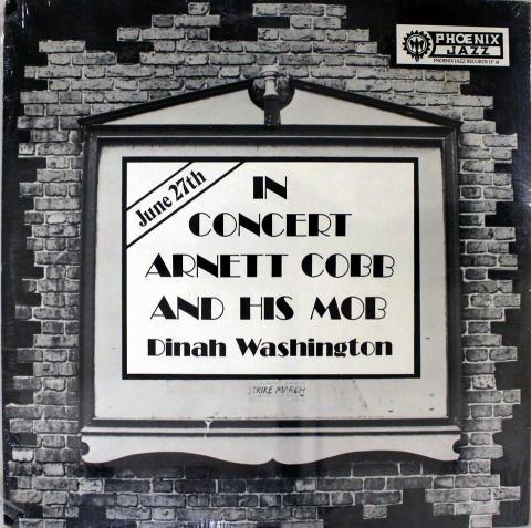 """Arnett Cobb & His Mobb Vinyl 12"""""""