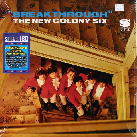 """The New Colony Six Vinyl 12"""""""