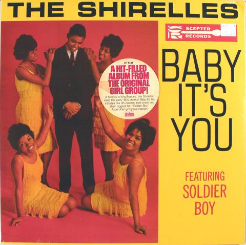 "The Shirelles Vinyl 12"""