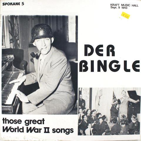 """Der Bingle Vinyl 12"""""""