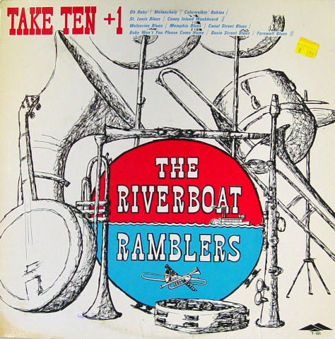 "The Riverboat Ramblers Vinyl 12"""