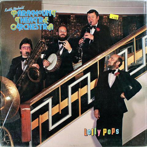 "Paramount Theatre Orchestra Vinyl 12"""