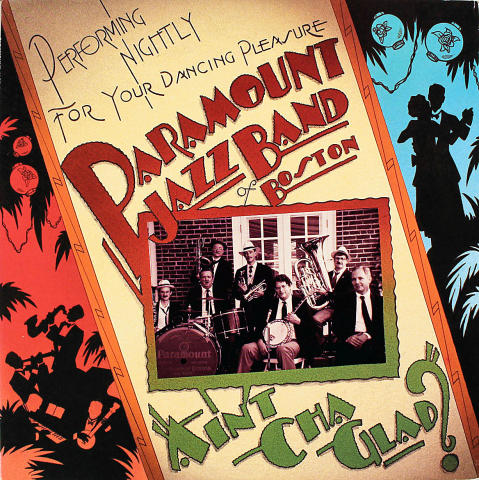 Paramount Jazz Band Of Boston Vinyl 12""