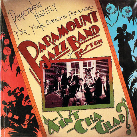 "Paramount Jazz Band Of Boston Vinyl 12"""