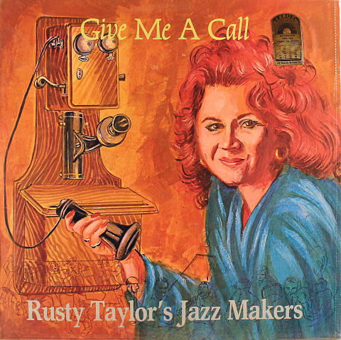 "Rusty Taylor's Jazz Makers Vinyl 12"""