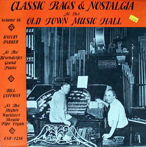 """Classic Rags & Nostalgia At The Old Town Music Hall Vinyl 12"""" (New)"""
