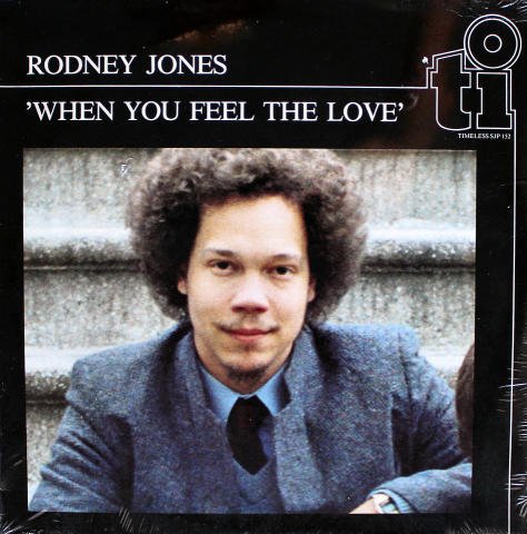 "Rodney Jones Vinyl 12"""