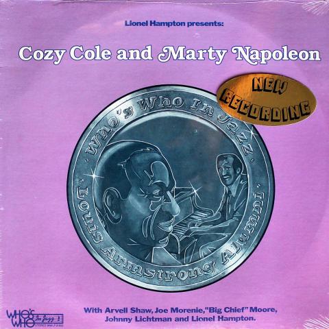 "Cozy Cole & Marty Napoleon Vinyl 12"""