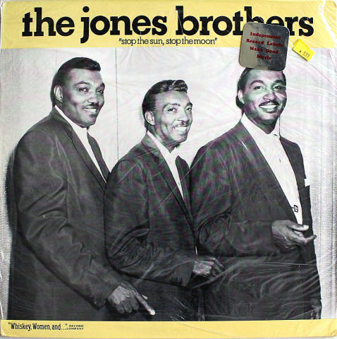 "The Jones Brothers Vinyl 12"""