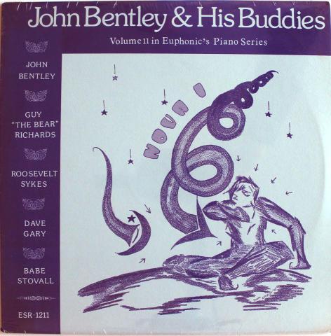 """John Bentley & His Buddies Vinyl 12"""""""