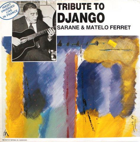 "Sarane & Matelo Ferret Vinyl 12"""