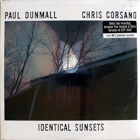 "Paul Dunmall / Chris Corsano Vinyl 12"""