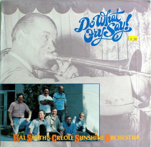 "Hal Smith's Creole Sunshine Orchestra Vinyl 12"""