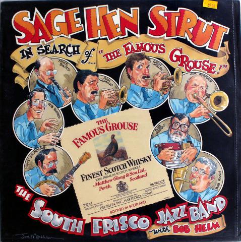"South Frisco Jazz Band Vinyl 12"""