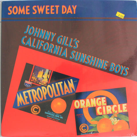 "Johnny Gill's California Sunshine Boys Vinyl 12"""