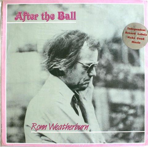 "Ronn Weatherburn Vinyl 12"""
