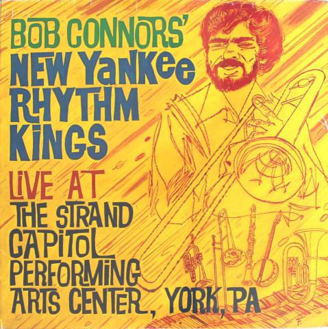"Bob Connors' New Yankee Rhythm Kings Vinyl 12"""