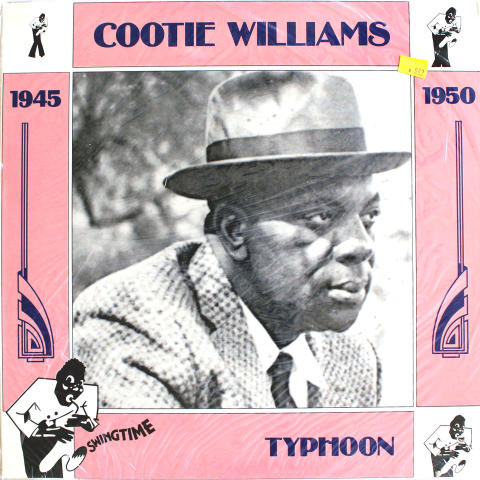 "Cootie Williams Vinyl 12"""