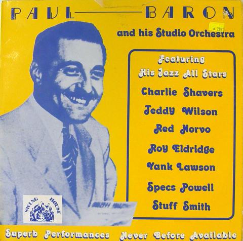 "Paul Baron & His Studio Orchestra Vinyl 12"""