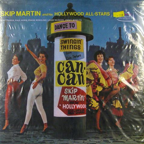 "Skip Martin And His Hollywood All-Stars Vinyl 12"""