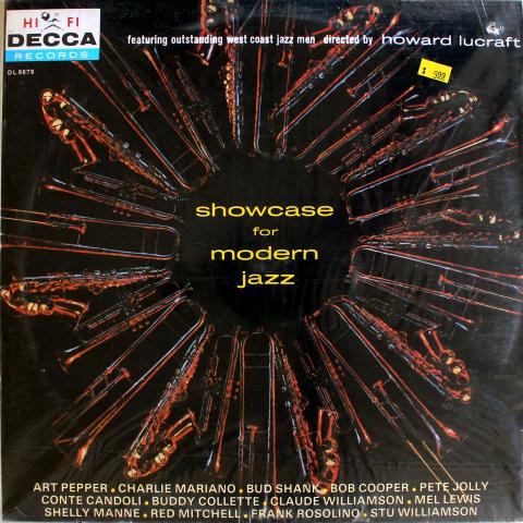 "Showcase For Modern Jazz Vinyl 12"""