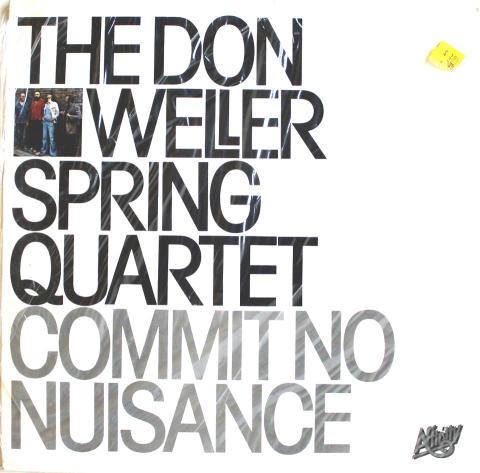 """Don Weller Spring Quartet Vinyl 12"""""""