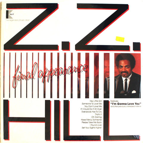 "Z.Z. Hill Vinyl 12"""
