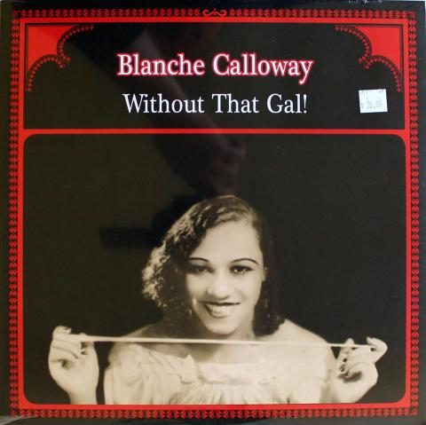 "Blanche Calloway Vinyl 12"""