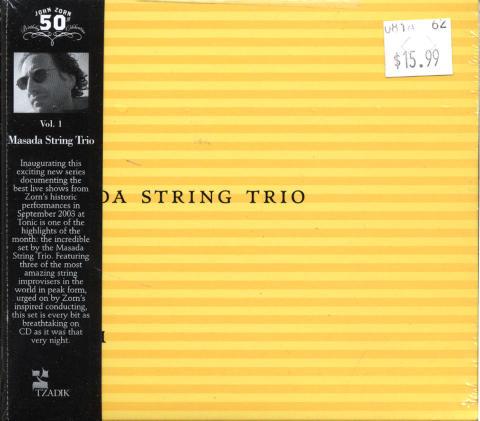 Masada String Trio CD