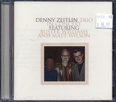 Denny Zeitlin Trio CD