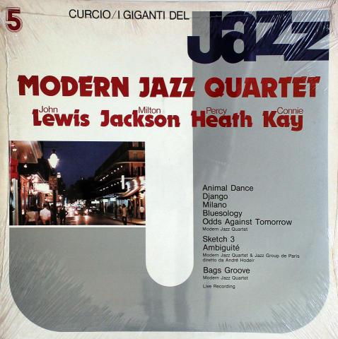"""Modern Jazz Quartet Vinyl 12"""""""