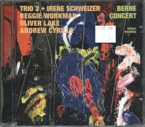 Trio 3 + Irene Schweizer CD