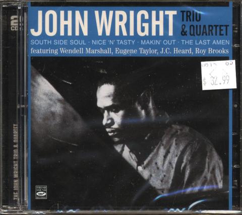 John Wright Trio & Quartet CD