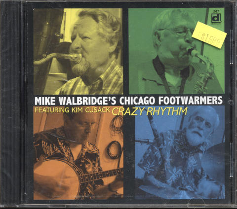 Mike Walbridge's Chicago Footwarmers CD