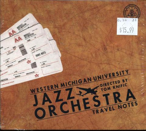 Western Michigan University Jazz Orchestra CD