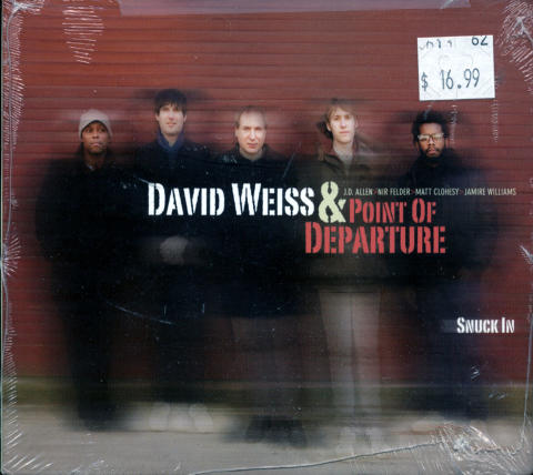 David Weiss & Point of Departure CD