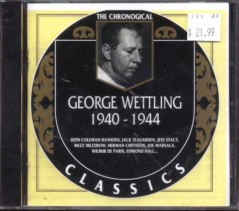 George Wettling CD
