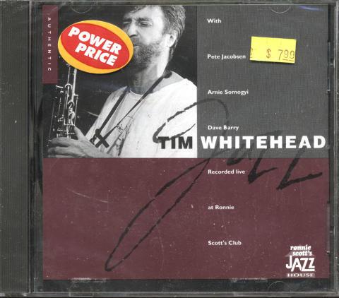 Tim Whitehead CD